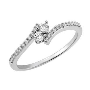 Twogether diamond ring size 7